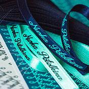 Этикетки ручной работы. Ярмарка Мастеров - ручная работа Бирка именная (пришивная), лейбл, этикетка, паспорт изделия. Handmade.