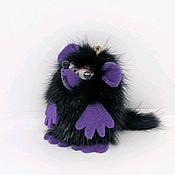 Сувениры и подарки handmade. Livemaster - original item Rat souvenir, keychain made of mink fur. Handmade.