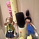 Коллекционные куклы ручной работы. Агнес ,Эдит и Марго. Елена (DollyPolly). Ярмарка Мастеров. Агнес, хранительница палочек, шерсть для валяния