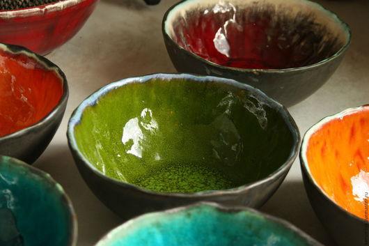 """Тарелки ручной работы. Ярмарка Мастеров - ручная работа. Купить керамическая миска """"Яркий вкус"""". Handmade. Комбинированный, керамическая тарелка"""