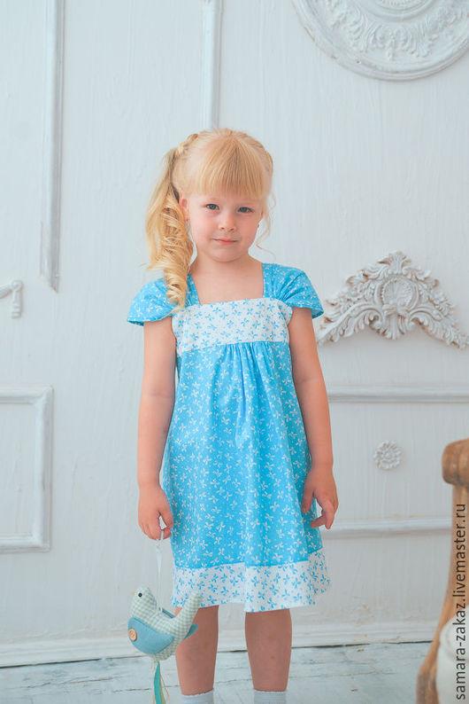 Одежда для девочек, ручной работы. Ярмарка Мастеров - ручная работа. Купить Платье для девочки. Handmade. Платье для девочки, летнее платье
