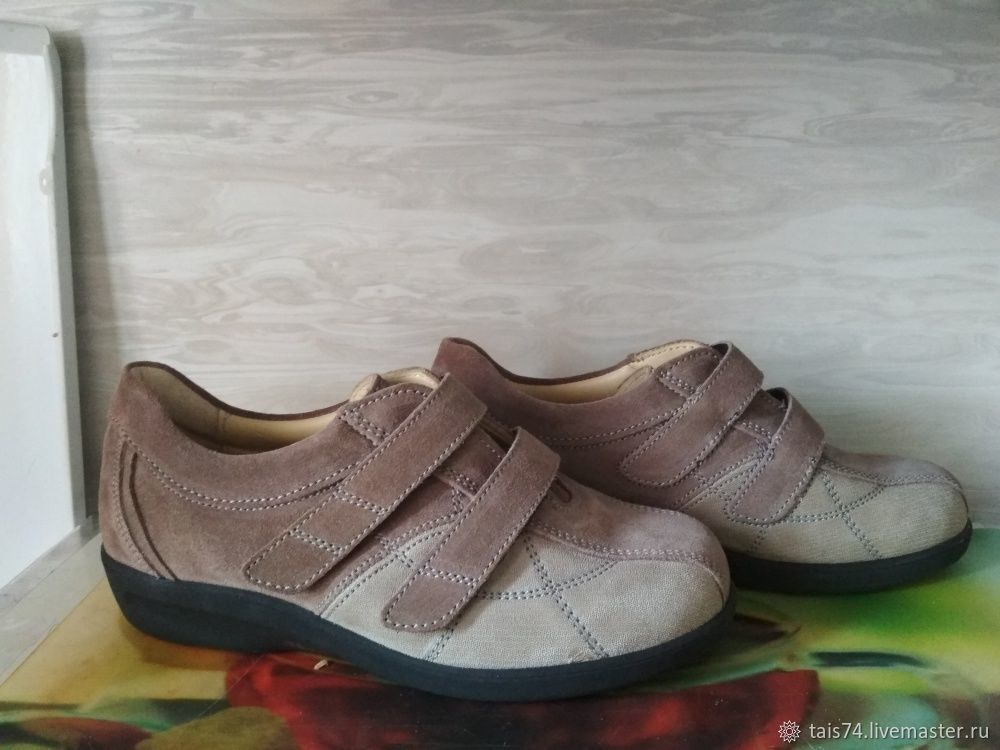 63db48455 Винтажная обувь. Ярмарка Мастеров - ручная работа. Купить Винтаж: Кроссовки  из натуральной кожи ...