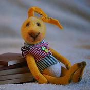Куклы и игрушки ручной работы. Ярмарка Мастеров - ручная работа ЧуднОй зайчик. Handmade.