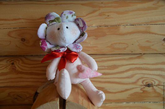 Куклы Тильды ручной работы. Ярмарка Мастеров - ручная работа. Купить Цветочек. Handmade. Интерьерная игрушка, авторская игрушка, радость