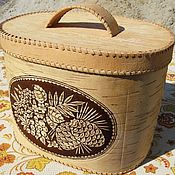 Для дома и интерьера handmade. Livemaster - original item Bread box large oval