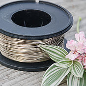Материалы для творчества handmade. Livemaster - original item 0,8 mm Nickel silver wire. Handmade.
