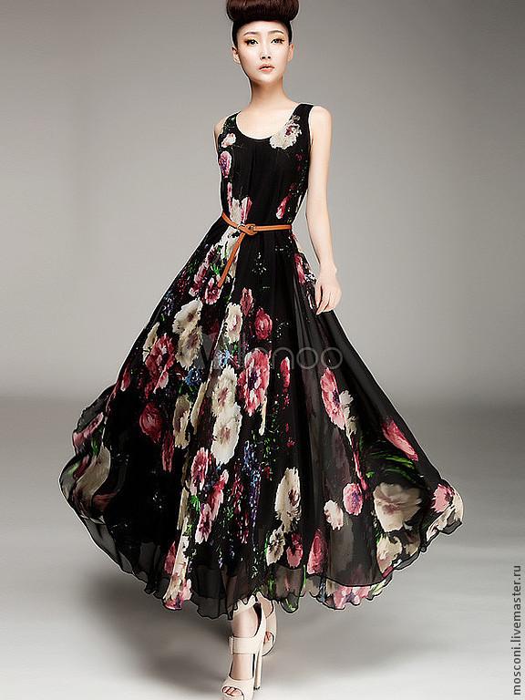 Итальянская платья шелковая