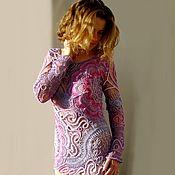 Одежда handmade. Livemaster - original item Tunic lilac. Handmade.
