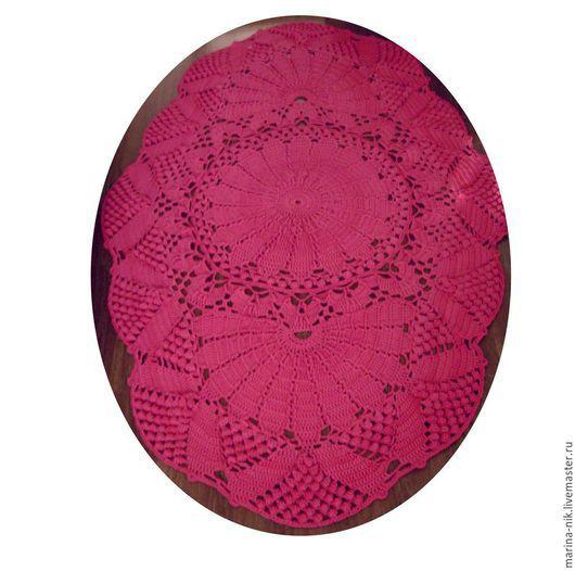 """Текстиль, ковры ручной работы. Ярмарка Мастеров - ручная работа. Купить Ковер """"Гранд"""". Handmade. Ковер из шнура, ажурный ковер"""