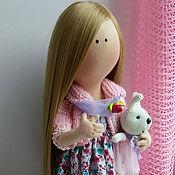 Куклы и игрушки ручной работы. Ярмарка Мастеров - ручная работа Интерьерная куколка Лика. Handmade.