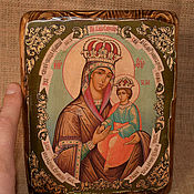 Картины и панно handmade. Livemaster - original item The icon of the mother of God surety of sinners. Handmade.
