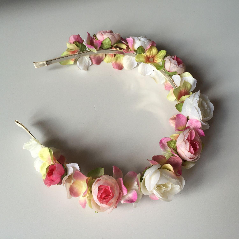 Ободок с цветами купить в магазине «Дом игрушек» 26