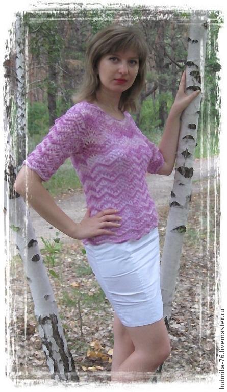 Кофты и свитера ручной работы. Ярмарка Мастеров - ручная работа. Купить джемпер Лолита. Handmade. Разноцветный, свитер, ажурный свитер
