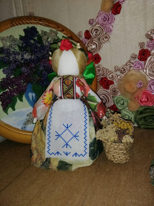 Обереговая кукла Внучка знахарки, Народная кукла, Кропоткин,  Фото №1