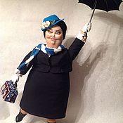 Куклы и игрушки ручной работы. Ярмарка Мастеров - ручная работа Мери Поппинс. Handmade.