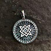 Folk decorations handmade. Livemaster - original item Star of Russia-amulet. Handmade.