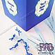 Коробочка с записочками для игры Мысли именинника или что я думаю о Вас (размер коробочки 15*15*15 см).