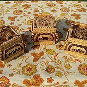 """Для дома и интерьера ручной работы. Ярмарка Мастеров - ручная работа Берестяной ларчик """"Малыш"""". Handmade."""
