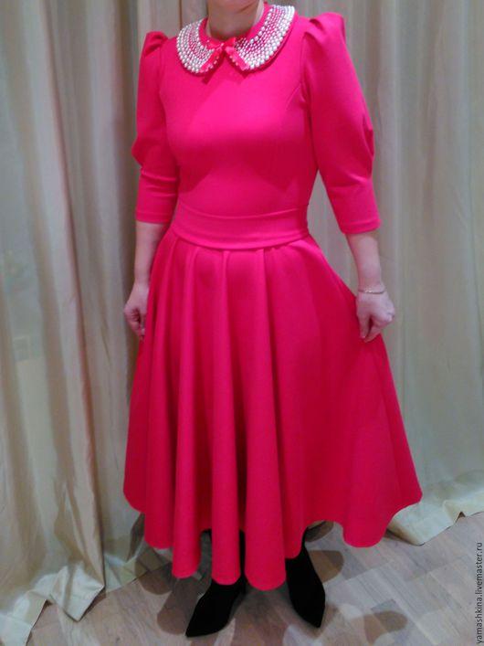 Платья ручной работы. Ярмарка Мастеров - ручная работа. Купить Платье из джерси. Handmade. Платье нарядное, красивое платье