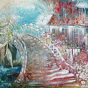 Картины и панно ручной работы. Ярмарка Мастеров - ручная работа Плакучая ива. Handmade.