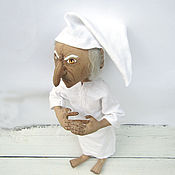 Куклы и игрушки ручной работы. Ярмарка Мастеров - ручная работа Кукла текстильная Скружд, персонаж «Рождественской истории». Handmade.