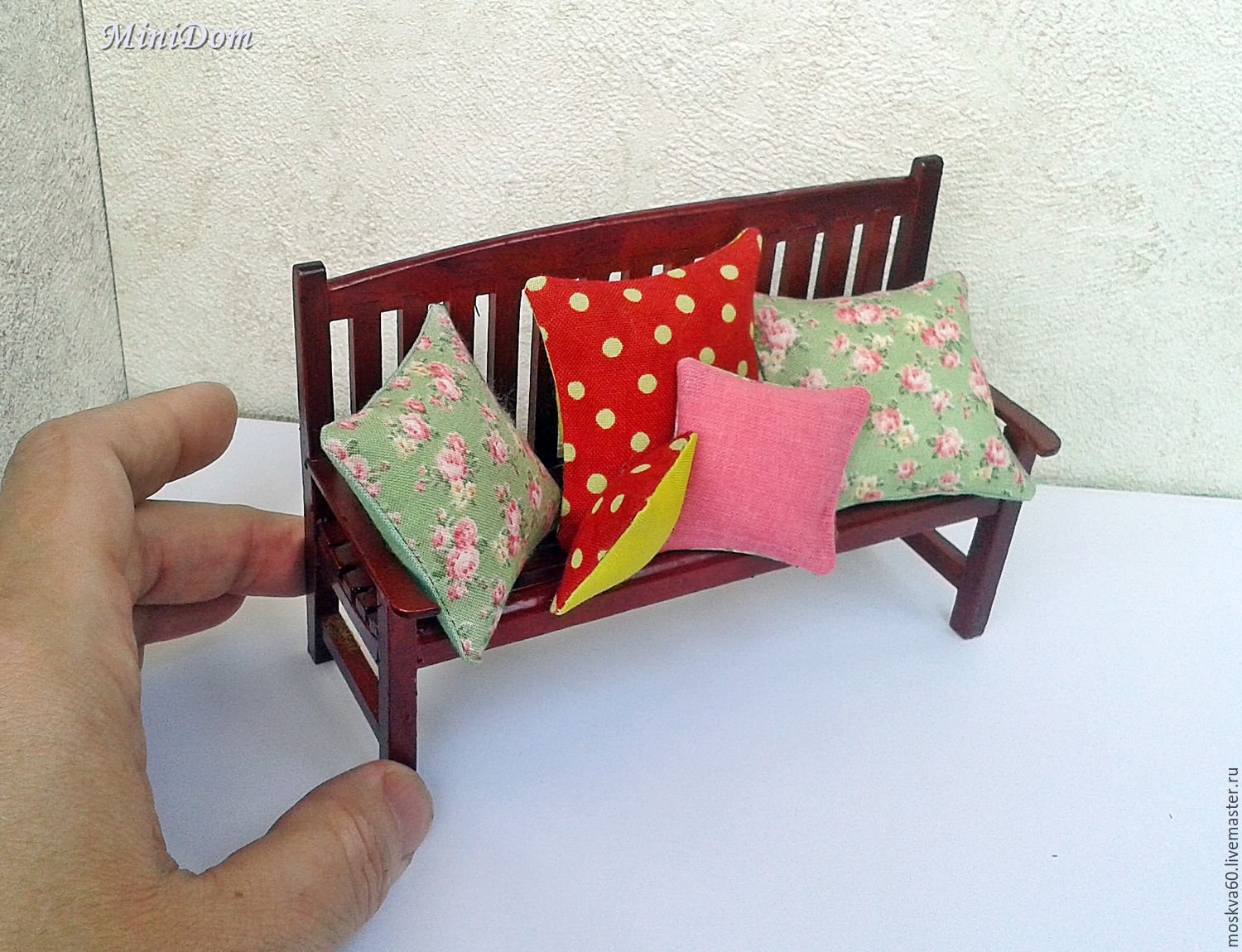 Pillows For Dollhouse Miniatures Dollhouse Accessories Shop