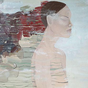 Картины и панно ручной работы. Ярмарка Мастеров - ручная работа Портрет Сновидение. Handmade.
