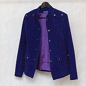 Одежда handmade. Livemaster - original item Corduroy jacket, cotton. Handmade.