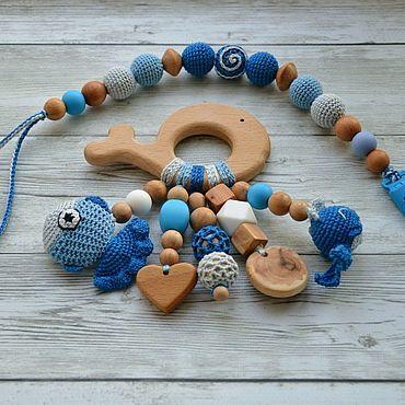 Works for children handmade. Livemaster - original item Baby gift set. Handmade.