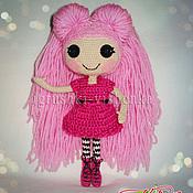 Куклы и игрушки ручной работы. Ярмарка Мастеров - ручная работа Куколка Лалалупси с длинными, розовыми волосами.. Handmade.