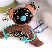"""Куклы и игрушки ручной работы. Ярмарка Мастеров - ручная работа войлочная игрушка """"Кодама-Пух"""". Handmade."""