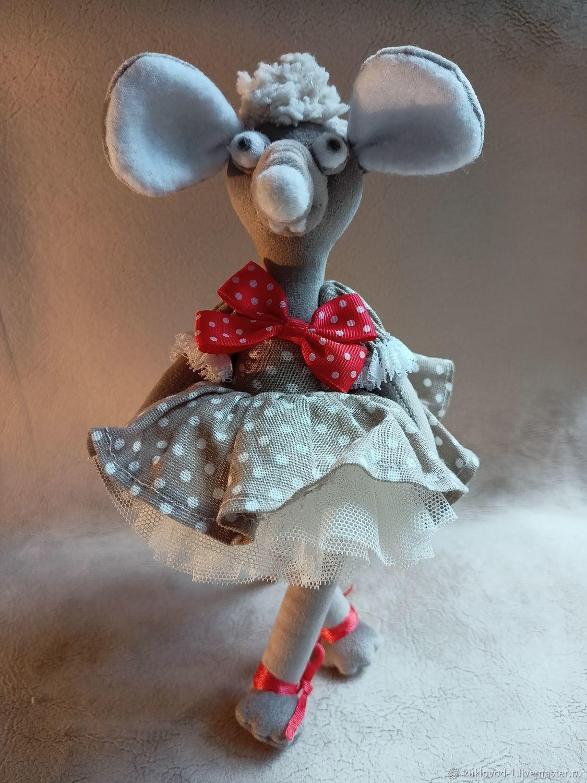 Мышка-Балерина, Интерьерная кукла, Москва,  Фото №1