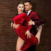 """Одежда ручной работы. Ярмарка Мастеров - ручная работа """"Кортина"""" Платье для аргентинского танго """". Handmade."""