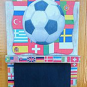 Для дома и интерьера handmade. Livemaster - original item Chalk Board key box