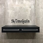 Для дома и интерьера handmade. Livemaster - original item Hanging pedestal BLACK WOOD. Handmade.