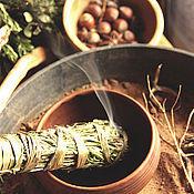 Фен-шуй и эзотерика ручной работы. Ярмарка Мастеров - ручная работа Fumus sacris - пучок ароматных трав. Handmade.