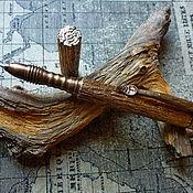 Ручки ручной работы. Ярмарка Мастеров - ручная работа Уникальная ручка с имитацией коры дерева. (Цена договорная). Handmade.