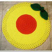 Для дома и интерьера handmade. Livemaster - original item The Mat is handmade from cord Fruit. Handmade.