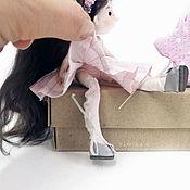 Шарнирная кукла ручной работы. Ярмарка Мастеров - ручная работа Маленькая куколка Эльфа. Handmade.