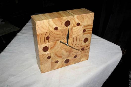 Часы для дома ручной работы. Ярмарка Мастеров - ручная работа. Купить часы настеные настольные. Handmade. Золотой, красивое дерево