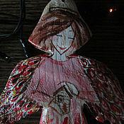 Подарки к праздникам ручной работы. Ярмарка Мастеров - ручная работа Ангел в красном и Ангел в медном. Handmade.