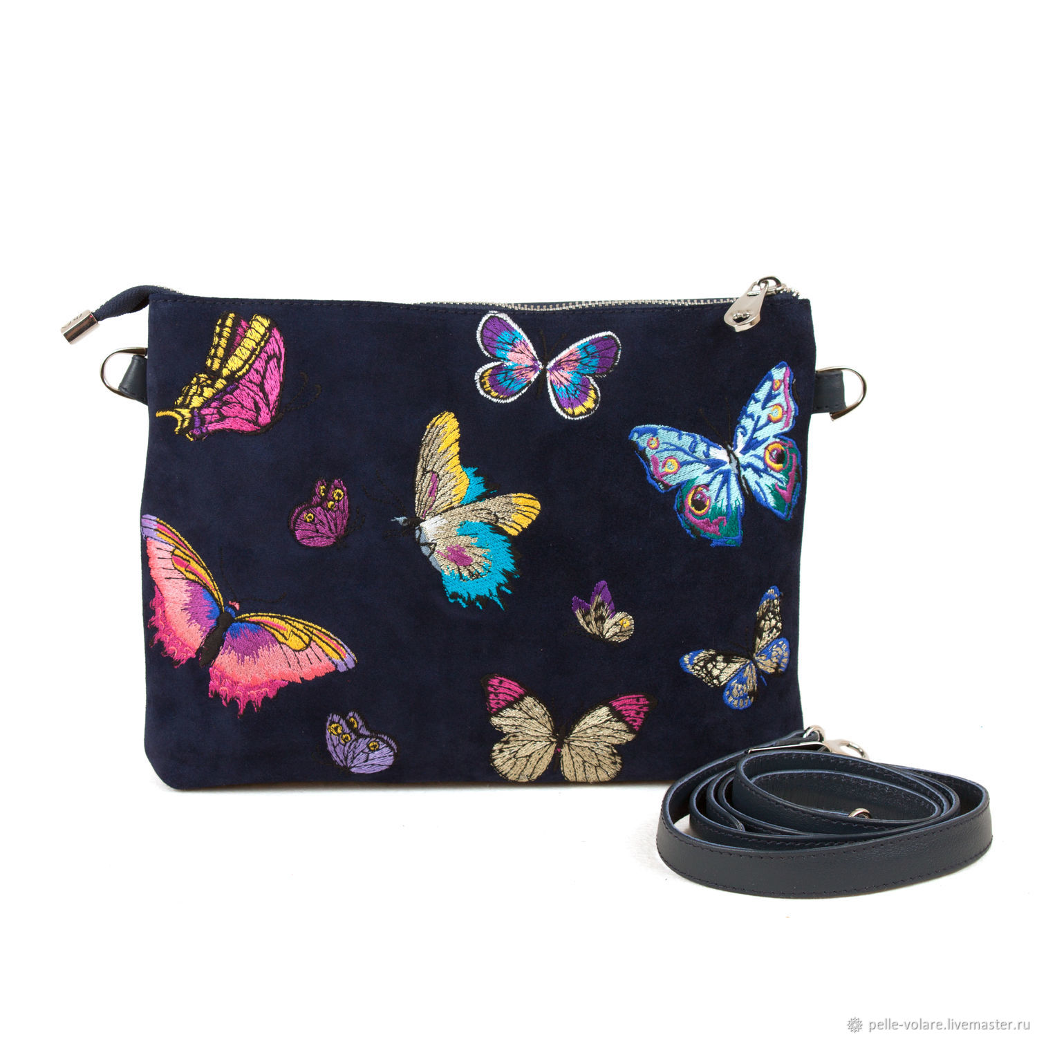 Clutch ' butterfly Embroidery', Clutches, St. Petersburg,  Фото №1