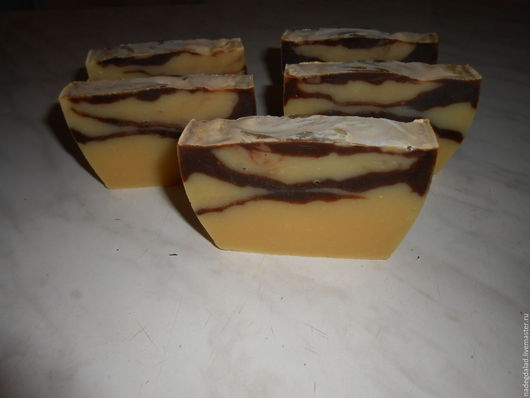 Мыло ручной работы. Ярмарка Мастеров - ручная работа. Купить Натуральное мыло на отваре апельсиновых корок. Handmade. Комбинированный