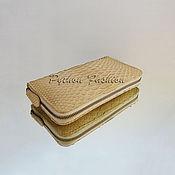 Сумки и аксессуары handmade. Livemaster - original item Wallet Python ZOE. Handmade.