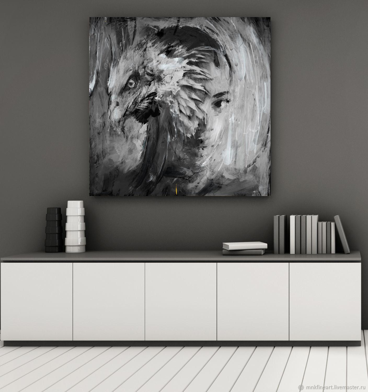 Фото холст: Девушка орел / Archan Nair, Фотокартины, Ростов-на-Дону,  Фото №1