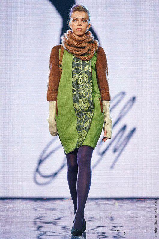 """Верхняя одежда ручной работы. Ярмарка Мастеров - ручная работа. Купить Пальто """"Верасу Хвали"""" из коллекции. Handmade. Разноцветный, пальто"""