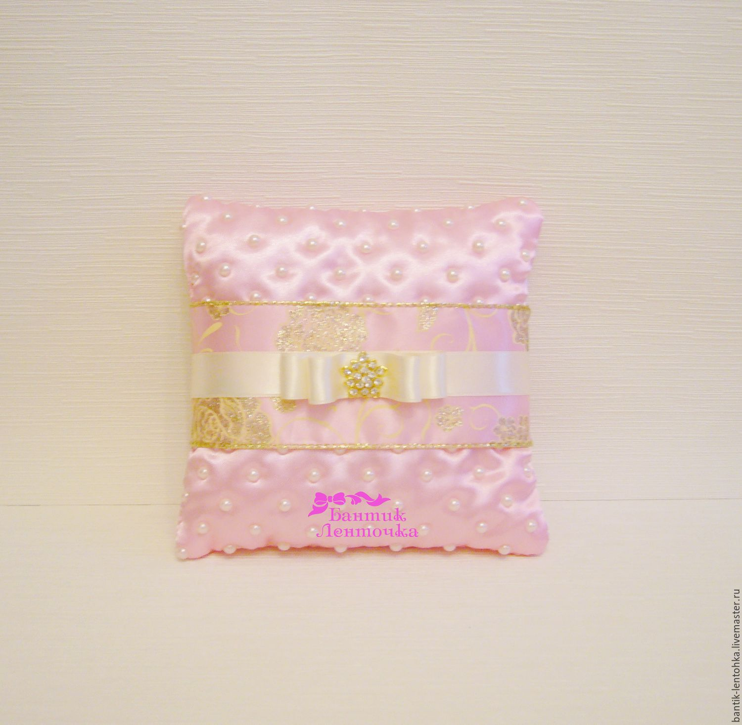 Cushion for rings Princess – shop online on Livemaster with shipping ...