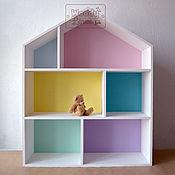 Для дома и интерьера ручной работы. Ярмарка Мастеров - ручная работа Полка-домик Маршмеллоу XL. Handmade.