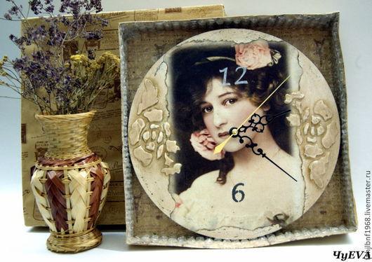 "Часы для дома ручной работы. Ярмарка Мастеров - ручная работа. Купить Часы ""Мадлен"". Handmade. Часы, часы круглые"