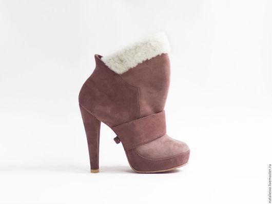 Обувь ручной работы. Ярмарка Мастеров - ручная работа. Купить DelicPink Melody. Handmade. Бледно-розовый, женская обувь